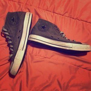 Distressed Grey Converse